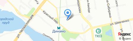 Детский сад №309 на карте Екатеринбурга