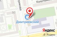 Схема проезда до компании Интегра в Екатеринбурге