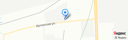 Строп-Мастер на карте Екатеринбурга