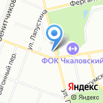 Баня №11 на карте Екатеринбурга