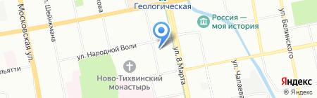 Институт инженерной экологии на карте Екатеринбурга