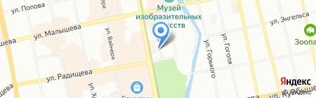 СтартЕК на карте Екатеринбурга