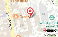 Схема проезда до компании Гротеск в Екатеринбурге