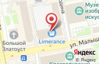 Схема проезда до компании Жби в Екатеринбурге