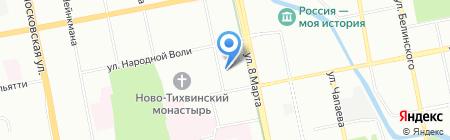 Профсоюзная студенческая организация на карте Екатеринбурга
