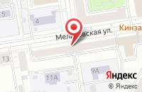 Схема проезда до компании Авант в Екатеринбурге