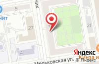 Схема проезда до компании Урал-Гарант в Екатеринбурге