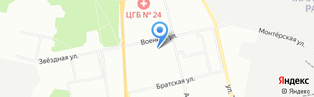 Сласть на карте Екатеринбурга
