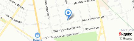 СОЧИ на карте Екатеринбурга
