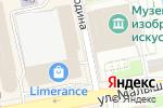Схема проезда до компании Спортивная школа детского самбо в Екатеринбурге