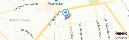 Бизнес-Миссия плюс на карте Екатеринбурга