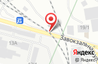 Схема проезда до компании Уральский Мастер в Екатеринбурге