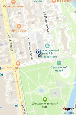 ОТКРЫТИЕ на карте Екатеринбурга