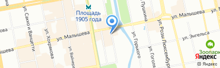 Детско-юношеский центр на карте Екатеринбурга