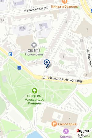 Цветы длявас на карте Екатеринбурга