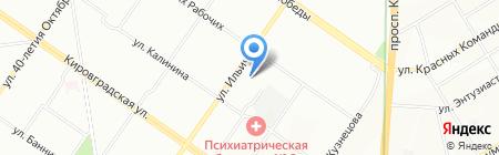 Визит на карте Екатеринбурга