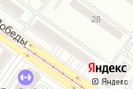 Схема проезда до компании Дамские Штучки в Екатеринбурге