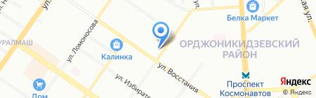 Премьер букет на карте Екатеринбурга