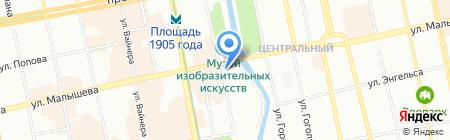 Абриколь 80 store на карте Екатеринбурга