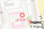 Схема проезда до компании Женская консультация №1 в Екатеринбурге