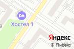 Схема проезда до компании Глянец в Екатеринбурге