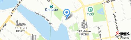 Мастер Переездов на карте Екатеринбурга