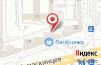 Схема проезда до компании Промтехсоюз в Екатеринбурге