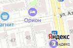 Схема проезда до компании Амур в Екатеринбурге