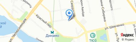Районная территориальная избирательная комиссия г. Екатеринбурга на карте Екатеринбурга