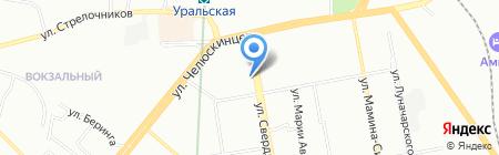 Банкомат Банк ВТБ 24 ПАО на карте Екатеринбурга