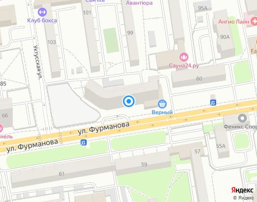 Товарищество собственников жилья «Лад-1» на карте Екатеринбурга