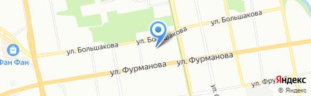 Гермес на карте Екатеринбурга
