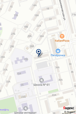 Фитнес-клуб на карте Екатеринбурга