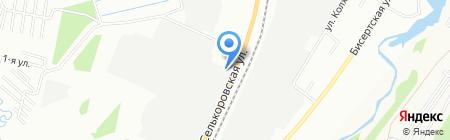 Наш двор на карте Екатеринбурга