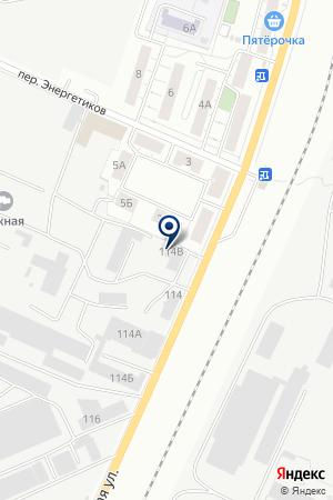 Оздоровительный комплекс на карте Екатеринбурга