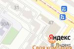 Схема проезда до компании Kappa Nesea. Loft design в Екатеринбурге