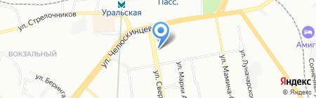 Мир кожи и меха на карте Екатеринбурга