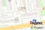 Схема проезда до компании TopService66 в Екатеринбурге