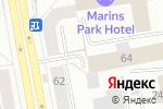 Схема проезда до компании Хаус Мастер в Екатеринбурге
