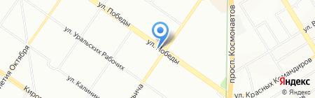 Тех точка на карте Екатеринбурга