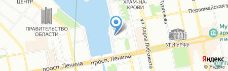 Laima Lux Group на карте Екатеринбурга
