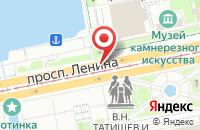 Схема проезда до компании Музторг в Екатеринбурге