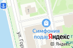 Схема проезда до компании Инновационные системы безопасности в Екатеринбурге