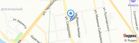 Млечный путь на карте Екатеринбурга