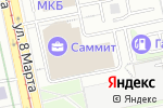 Схема проезда до компании Benefit в Екатеринбурге