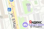 Схема проезда до компании E96ru в Екатеринбурге