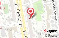 Схема проезда до компании Привилегия в Екатеринбурге