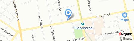 Уютный Дом на карте Екатеринбурга