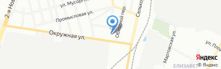 Почтовое отделение №103 на карте Екатеринбурга