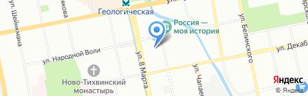 Бухгалтер на карте Екатеринбурга